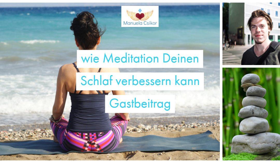 Gastbeitrag: Schlafstörungen und wie Dir Meditation helfen kann, besser zu schlafen – vom Schlafenguru